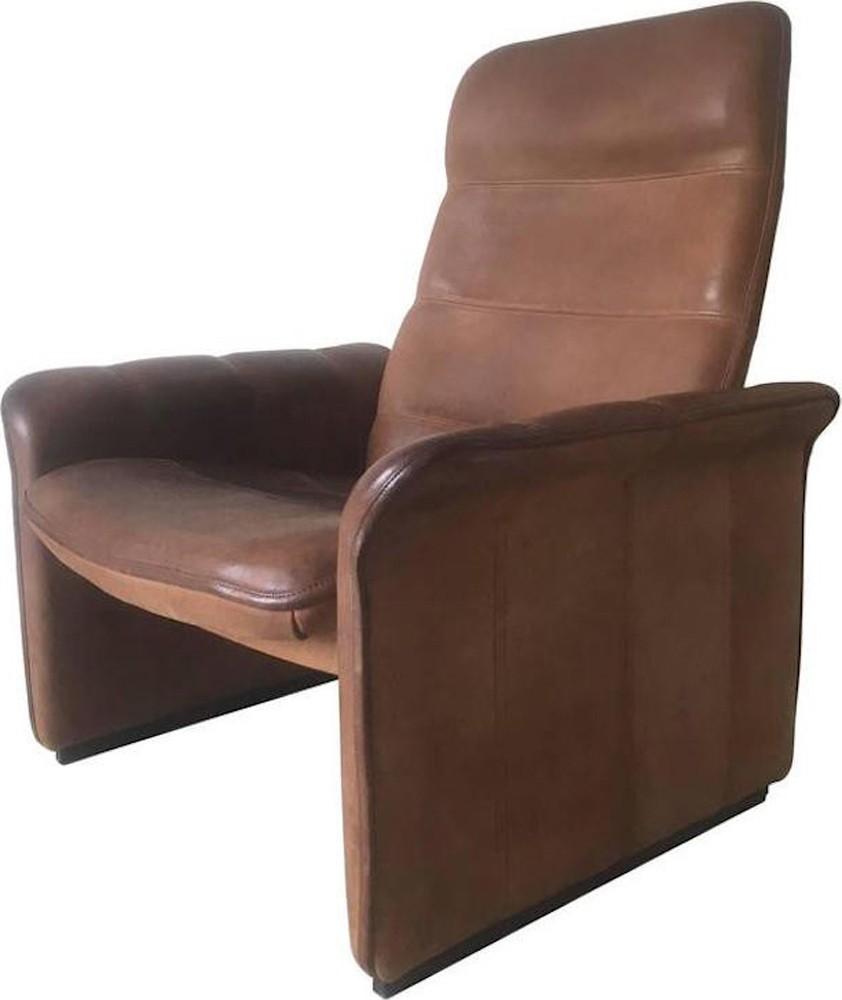 De Sede Ds 50 Fauteuil.Adjustable Leather Lounge Chair Model Ds 50 By De Sede 1960s Design Market