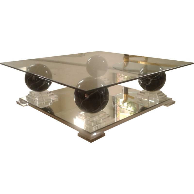 roche bobois coffee table 1980s