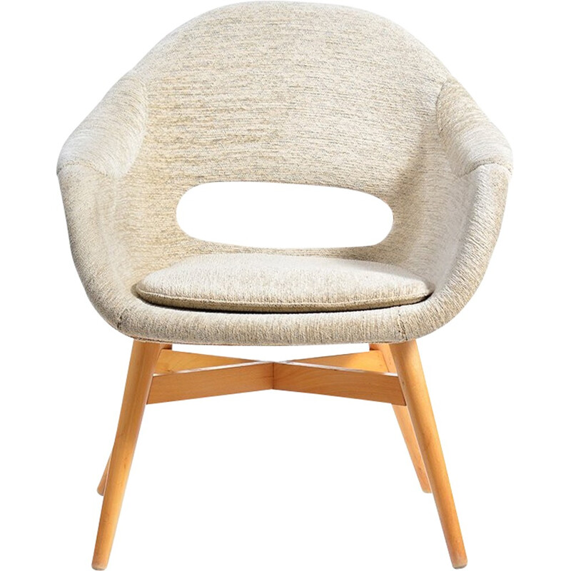 Shell chair by Jirak - 1960s