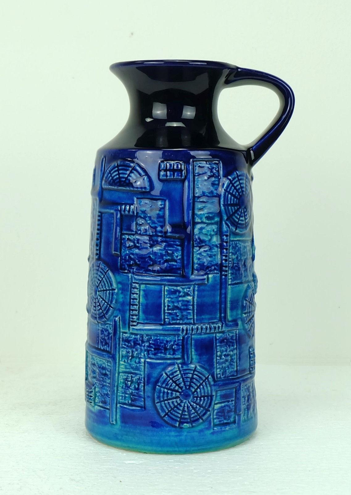 Blue turquoise narvik vase by bodo mans 1960s design market previous next reviewsmspy