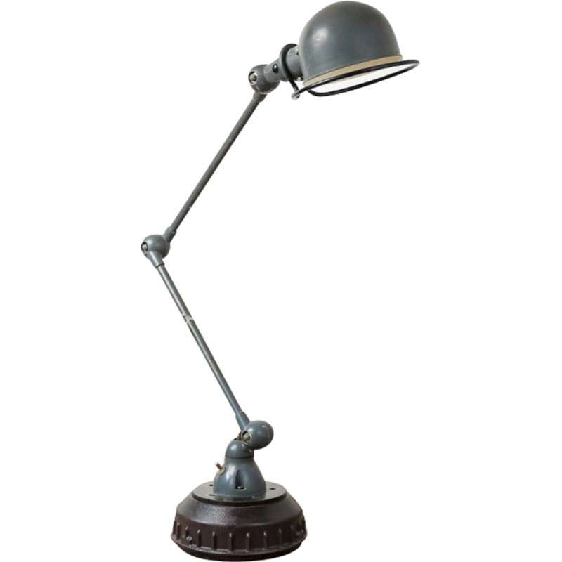 Mid Century Articulated Desk Lamp Produced By Jieldé 1950s