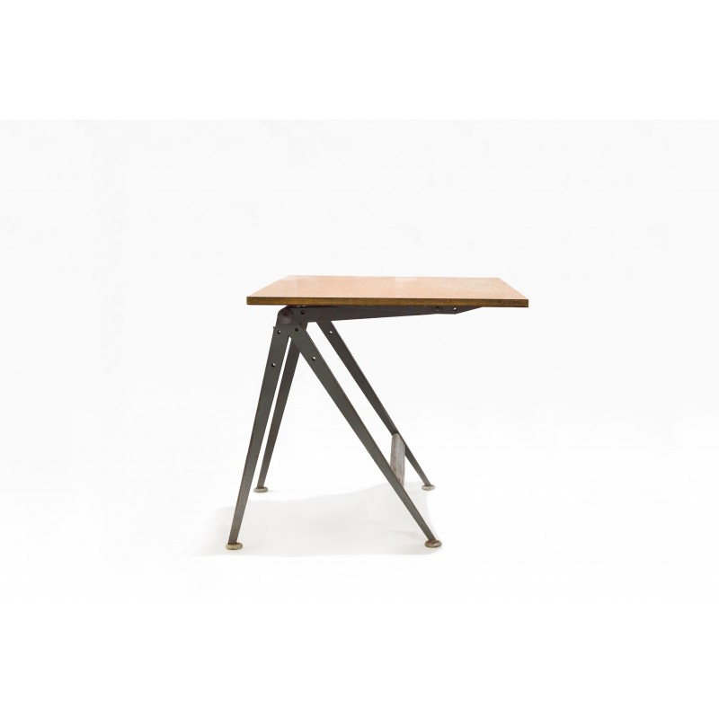 Vintage Drawing Board In Plywood And Metal Produced By Friso Kramer   1960s    Design Market