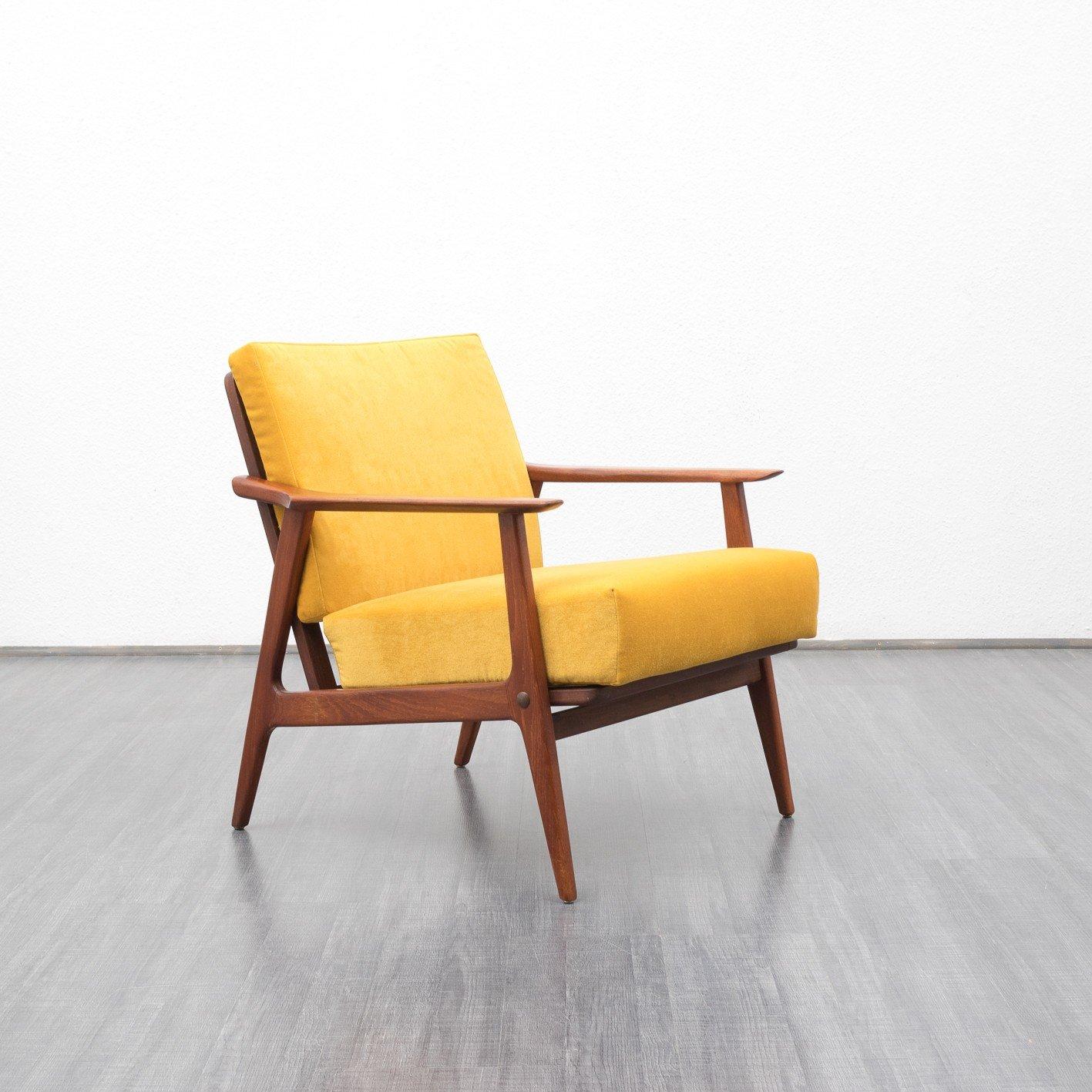 Teak Scandinavian armchair - 1960s - Design Market