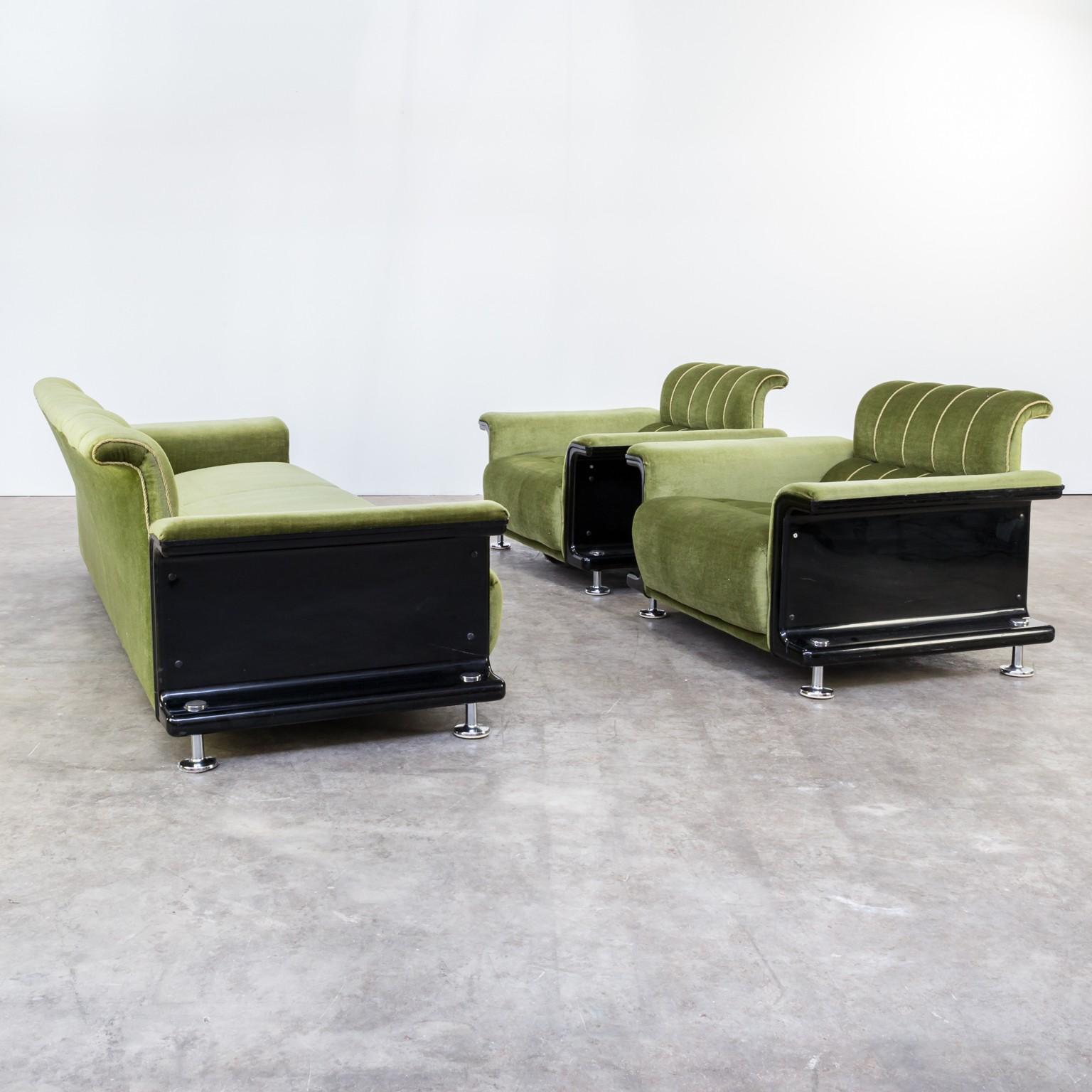 Green living room set by Gerd Lange for \'t Spectrum - 1970s - Design ...