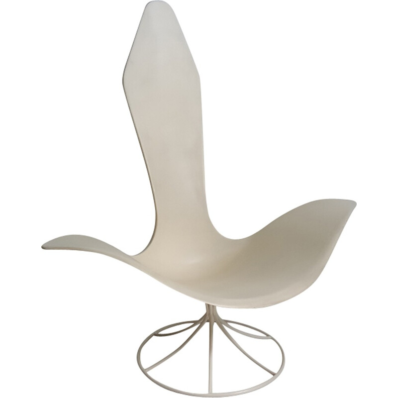"""Tulip"" armchair by Erwine and Estelle Laverne - 1960s"