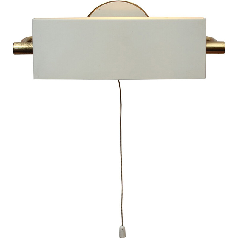 French Wall Lamp by Jacques Biny for Lita - 1950s