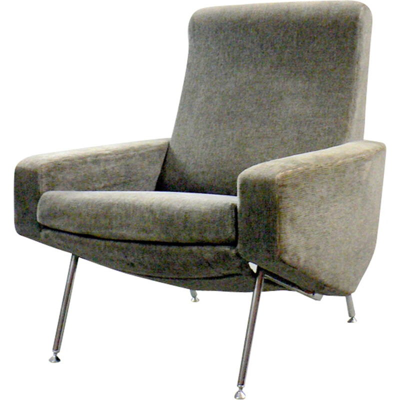 Troïka armchair by P.Geoffroy for Airborne - 1950s