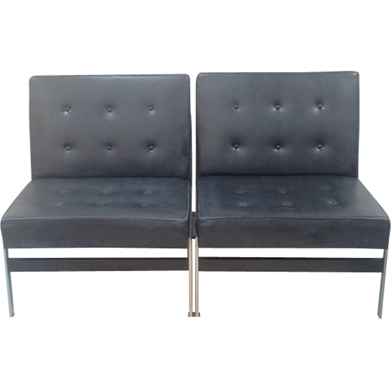Pair of loung chairs by Kho Liang Ie for Artifort - 1950s