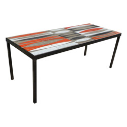 Navette coffee table, Roger CAPRON - 1950s