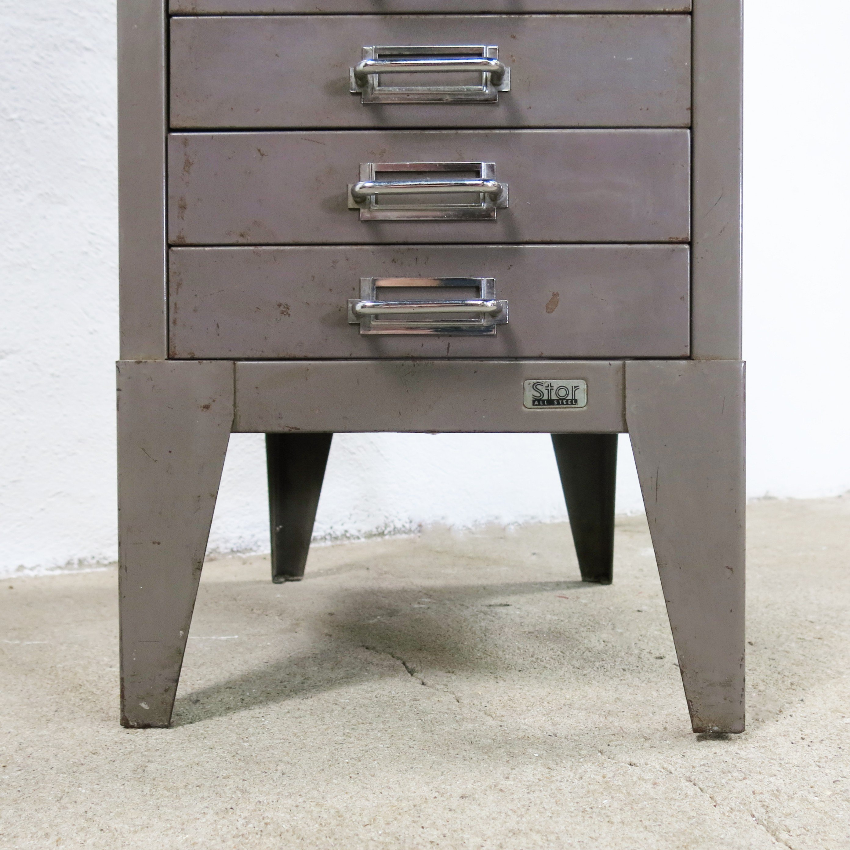 Filing Cabinet From Stor All Metal 1950s Previous Next
