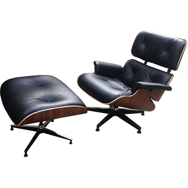 Eames lounge chair & ottoman by Eames for Herman Miller - 2000s