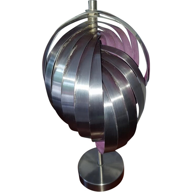Helicoidal lamp by Henri Mathieu, Mathieu edition - 1970s