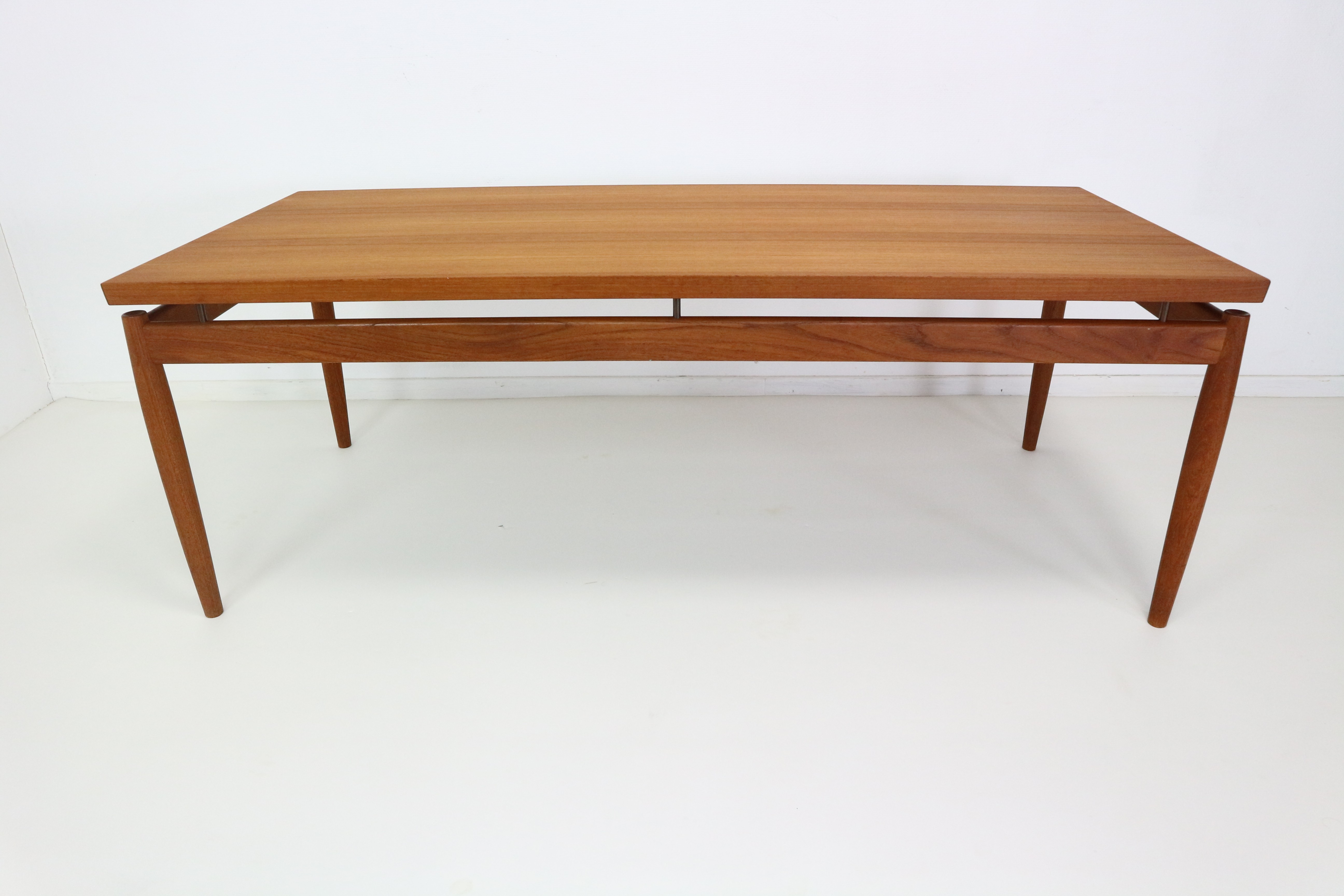 France & Son Coffee Table in Teak Grete Jalk 1960s Design Market