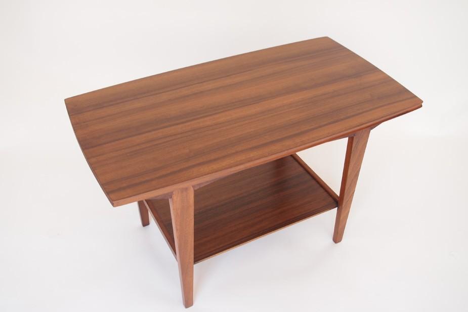 Petite Table Basse Palissandre Annees 50 Design Market