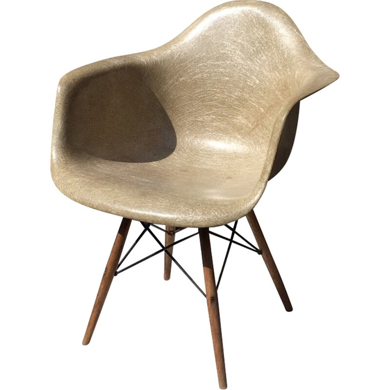 Vintage PAW armchair by Charles and Ray Eames - 1950s