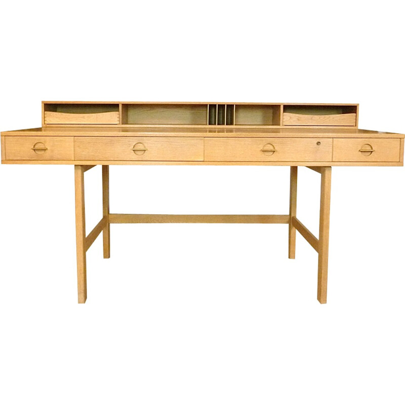 Danish flip-top desk by Jens Quistgaard for Løvig - 1960s