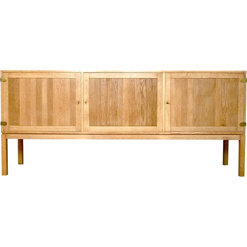 Danish oak sideboard by Kurt Østervig for Randers - 1960s