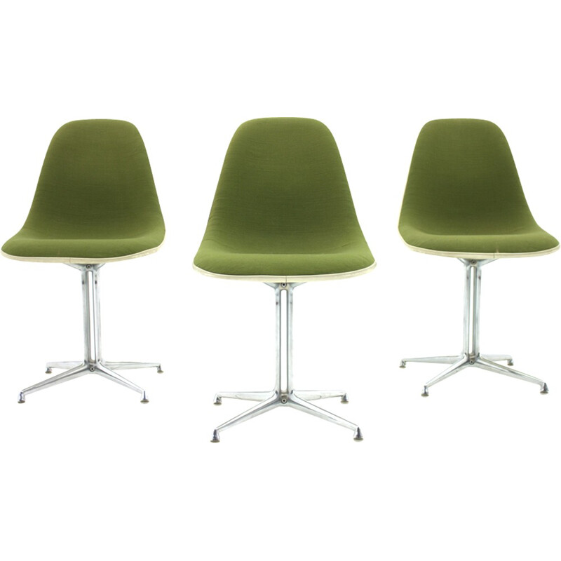 """Green """"La Fonda"""" armchair by Charles and Ray Eames - 1960s"""