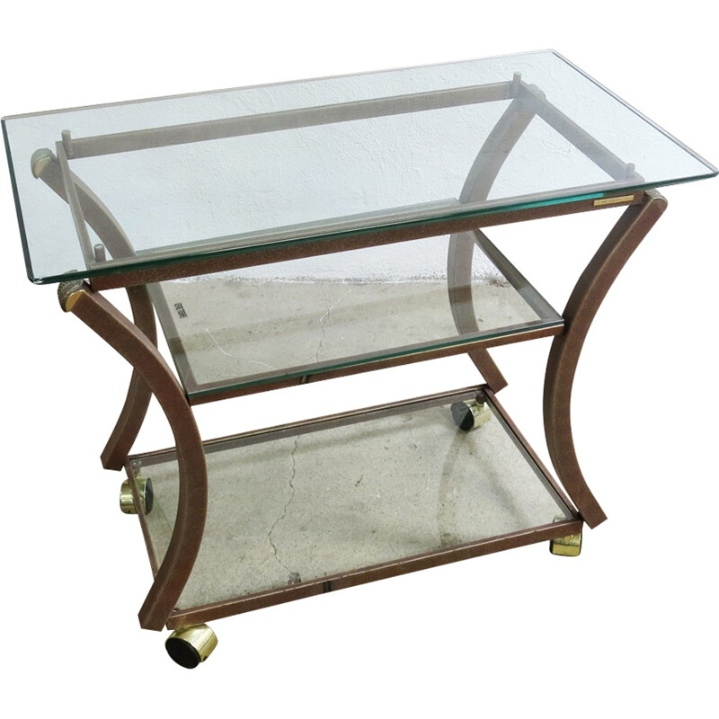 French trolley table from Pierre Vandel - 1970s