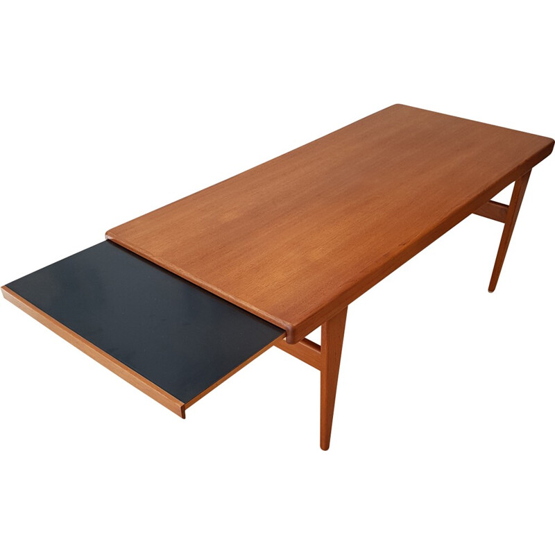Danish teak coffee table by Johannes Andersen - 1960s