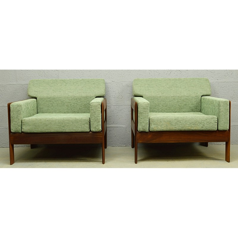 Teak Living Room Furniture: Mid-century Danish Teak Living Room Set