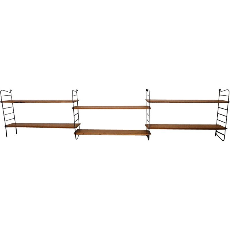 Large vintage shelving system by Nisse Strinning - 1960s