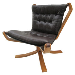 """FALCON"" Lounge Chair, Sigurd RESSELL - 1970s"