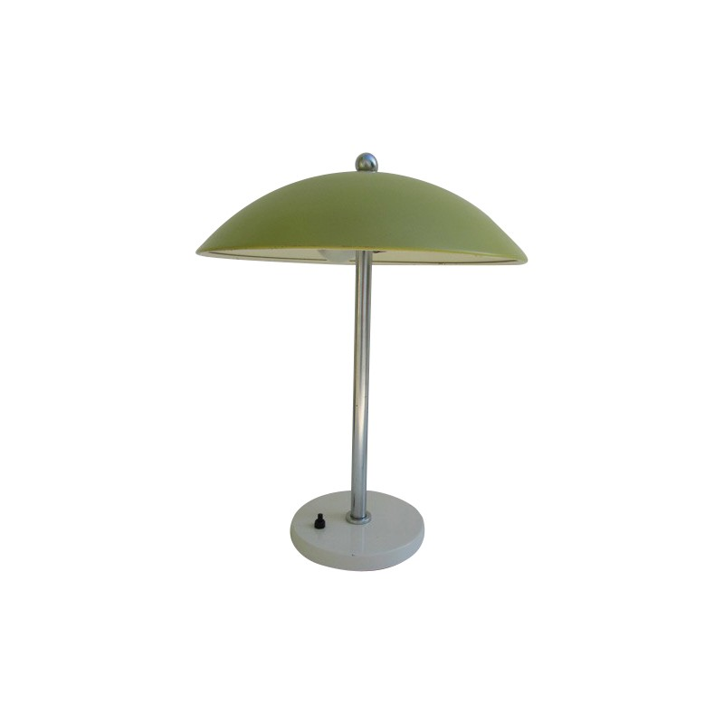 Gispen table lamp in lime green metal wim rietveld 1950s design gispen table lamp in lime green metal wim rietveld 1950s mozeypictures Choice Image