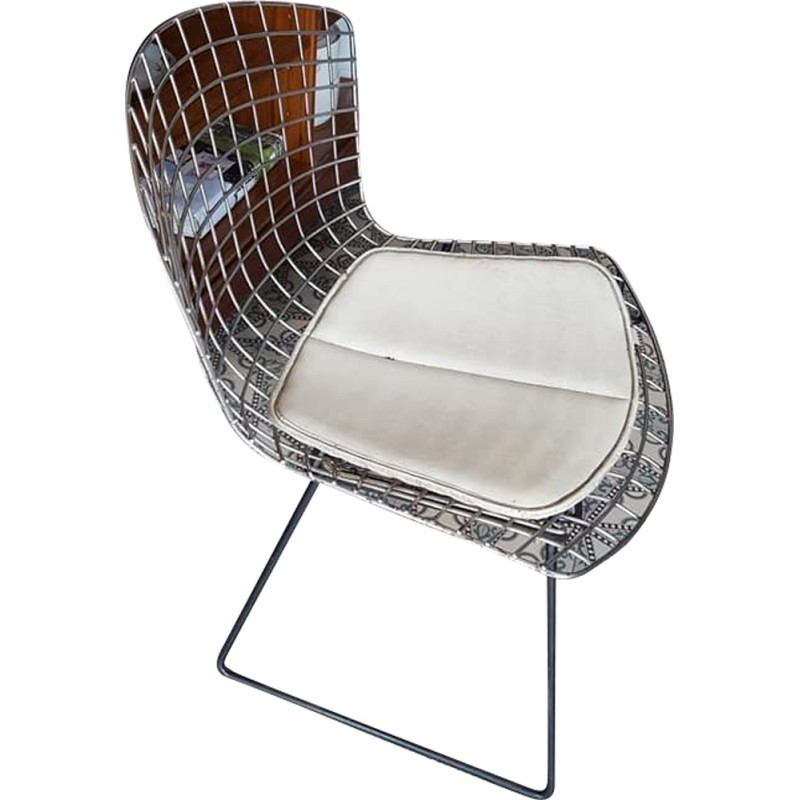 chaise diamond bertoia bertoia large diamond chair with. Black Bedroom Furniture Sets. Home Design Ideas