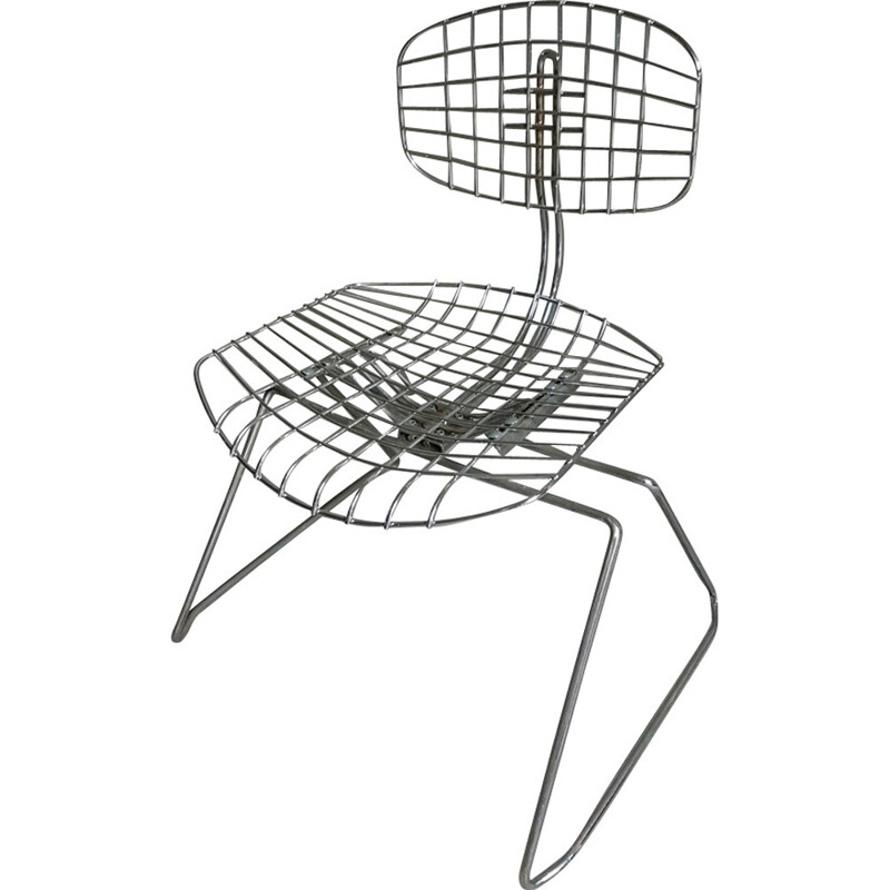 """Beaubourg"" chair by Michel Cadestin - 1970s"