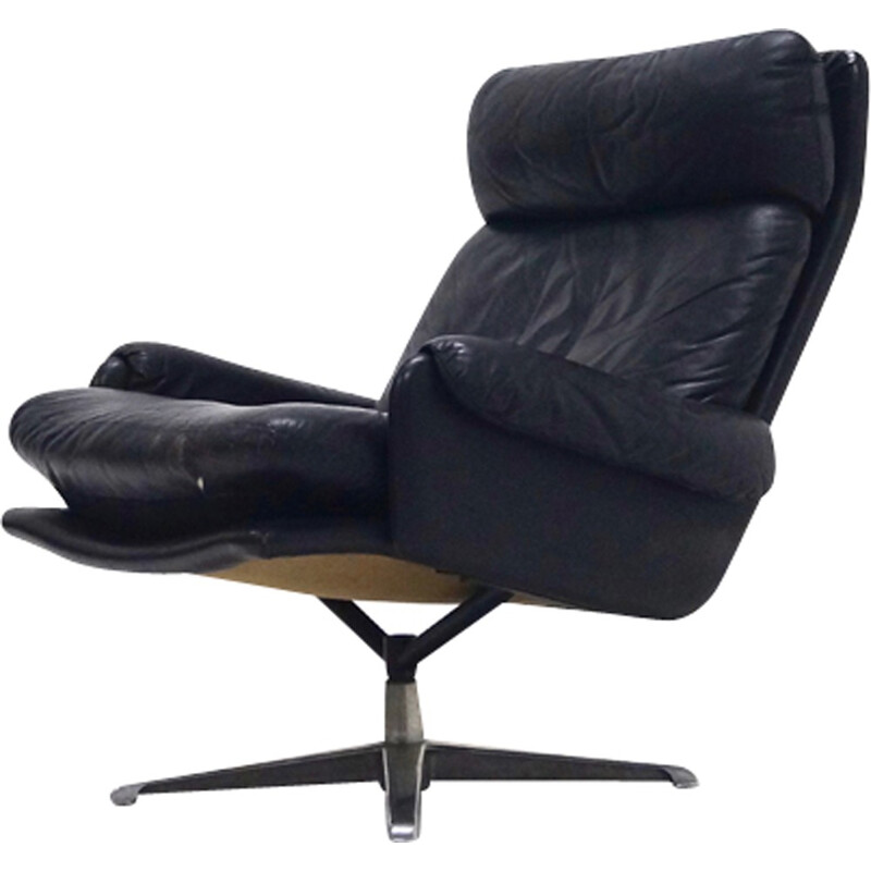 Mid-Century ESA Swivel Chair by Werner Langenberg - 1960s