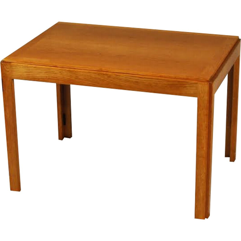 model 5383 oak side table by Borge Mogensen for  Fredericia Stolefabrik  - 1960s