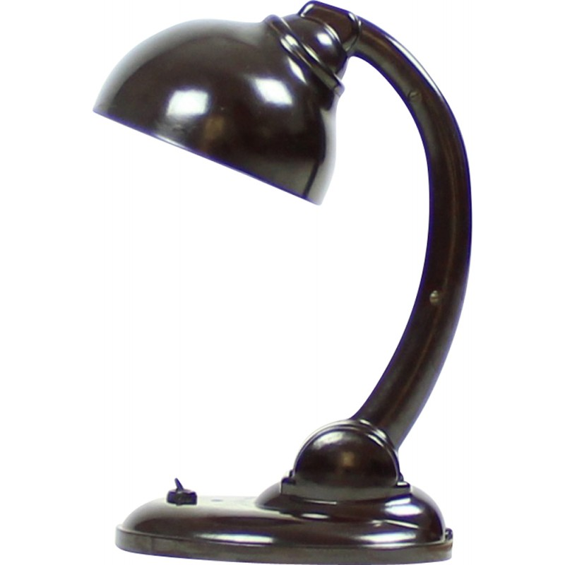 Bakelite type 11126p lamp by Eric Kirkman Cole for EKCO Ltd - 1930s