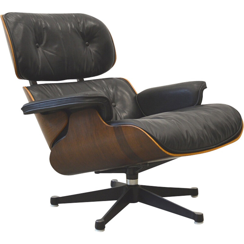 Rosewood lounge Chair by Eames for Herman Miller - 1970s