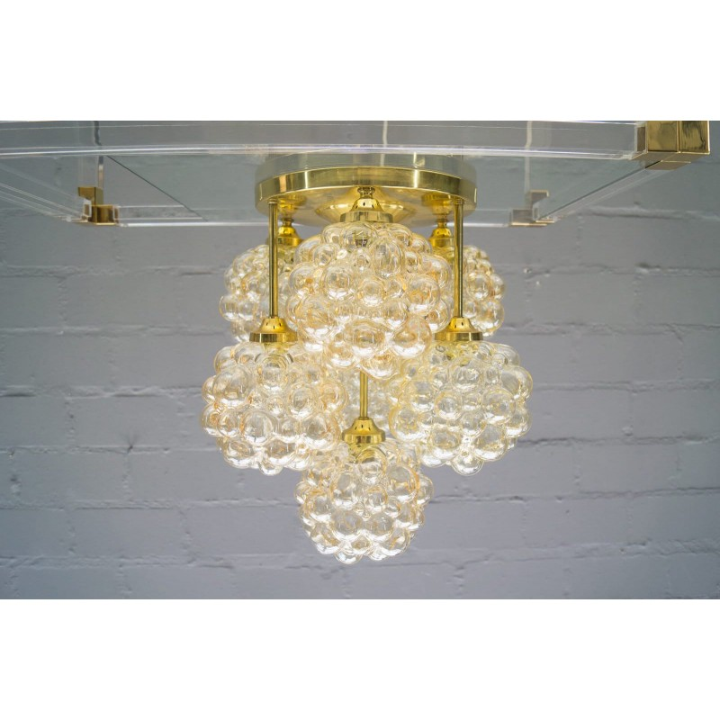 Gold Bubble Glass Ceiling Light By Helena Tynell For Limburg 1960s Design Market