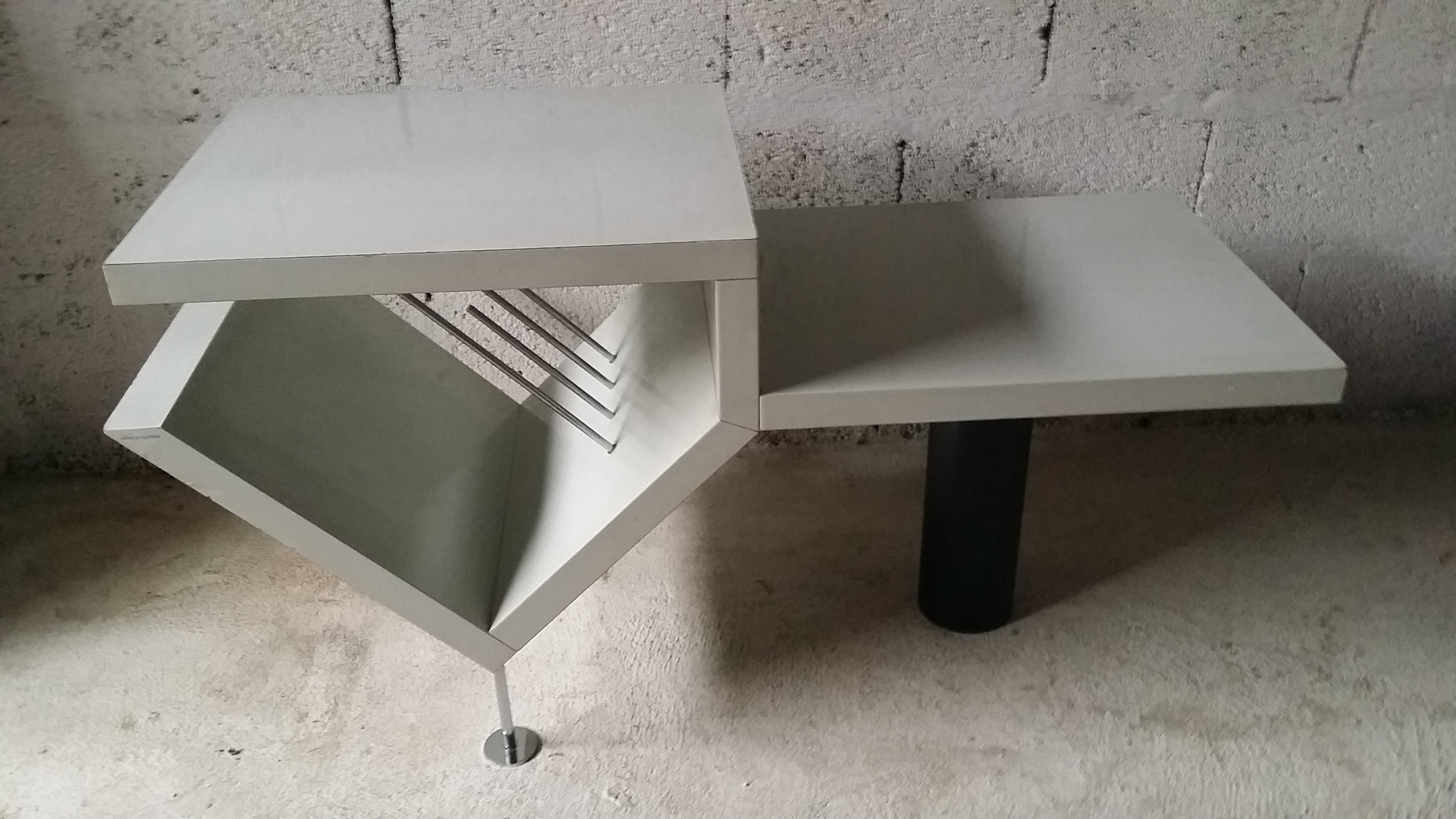 100 aluminium coffee table standard furniture cosmo adjusta