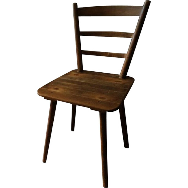 Vintage Munich beer hall board chairs - 1960s