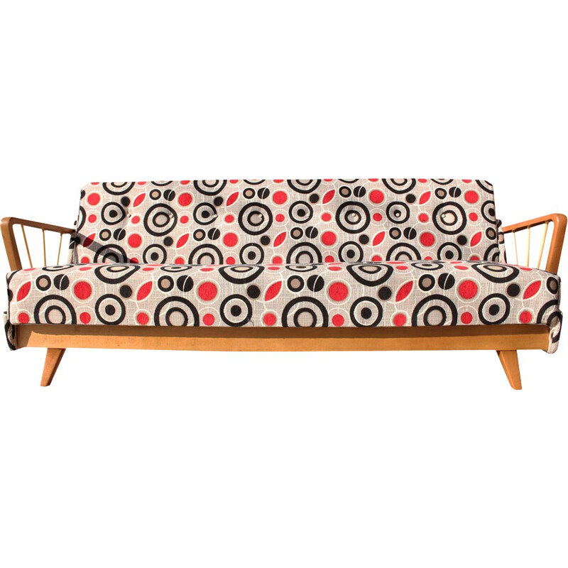 Space age german sofa bed - 1950s