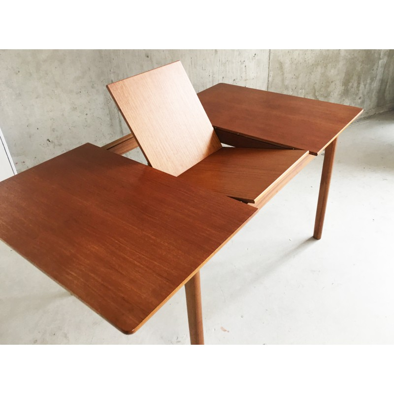 Mid Century A H Mcintosh Of Kirkaldy Expandable Dining Table 1960s Design Market