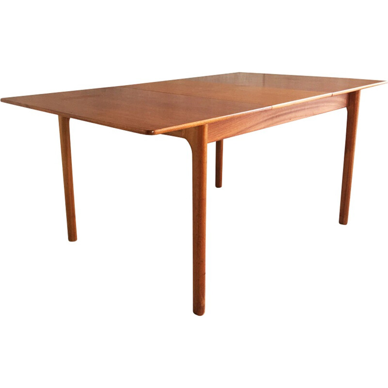 Mid century A.H. McIntosh of Kirkaldy expandable dining table - 1960s