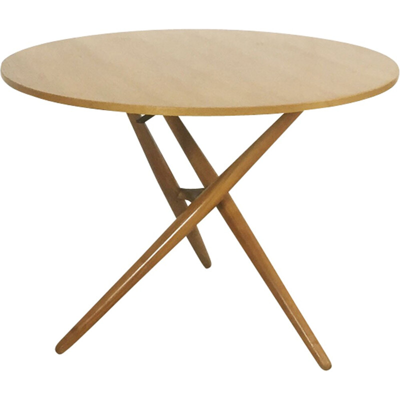 Movex dining table in cherry wood by Jürg Bally for Wohnhilfe Zürich - 1950s