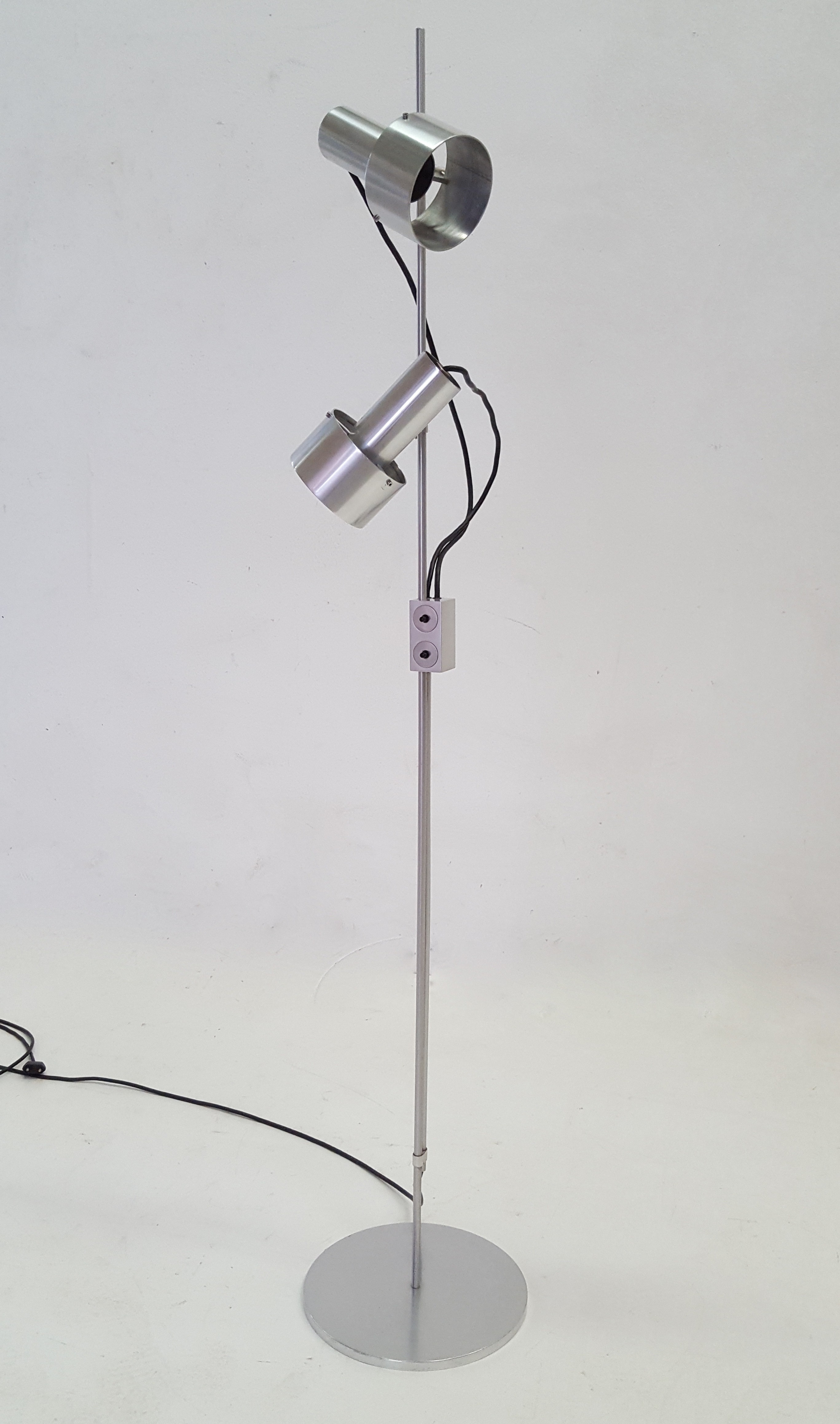 TA Spot Aluminum Floor Lamp By Peter Nelson For Architectural Lighting Compan