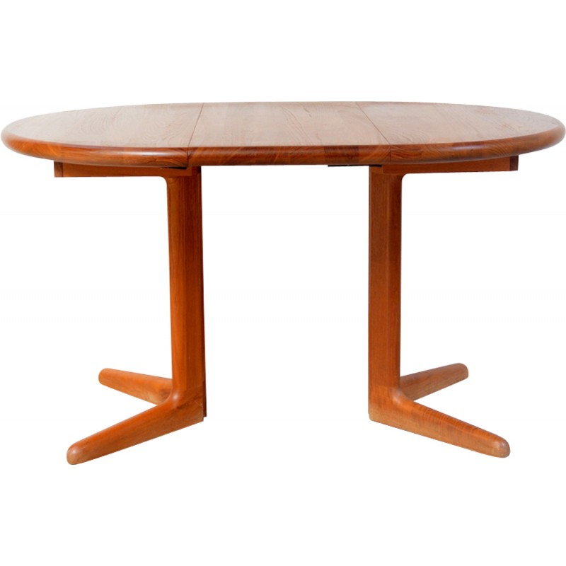 Danish Teak Table With Extension Produced By Korup Design   1960s