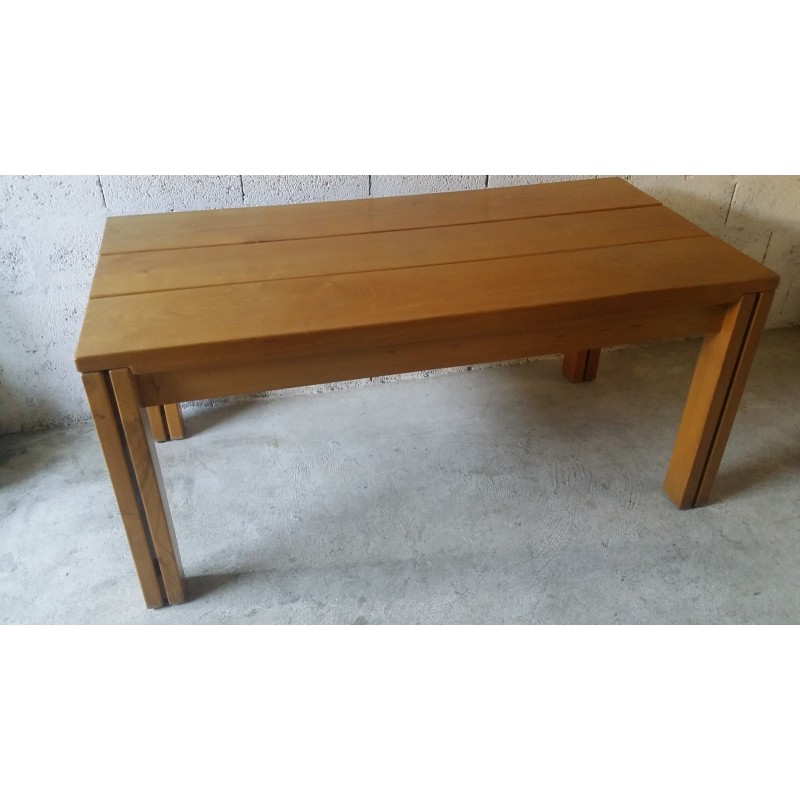 Elm Dining Table By Regain 1980s