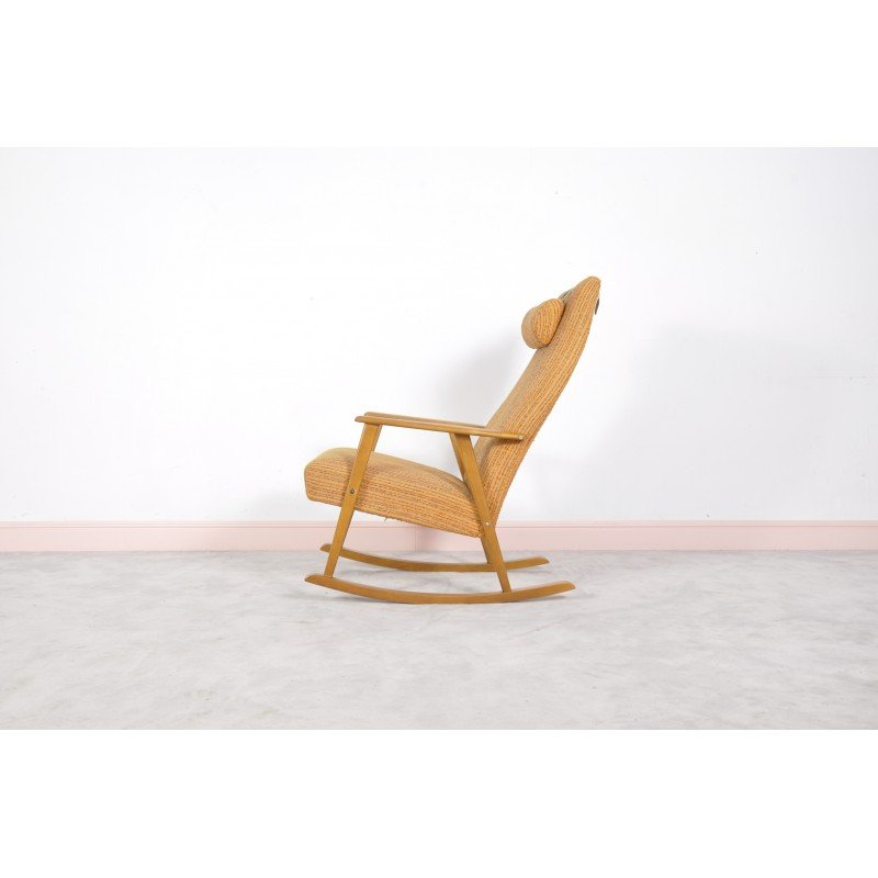 Prime Mid Century Swedish Rocking Chair By Johanson 1960S Creativecarmelina Interior Chair Design Creativecarmelinacom