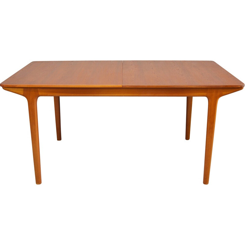 """Mid-Century """"T5"""" teak dining table produced by McIntosh - 1960s"""