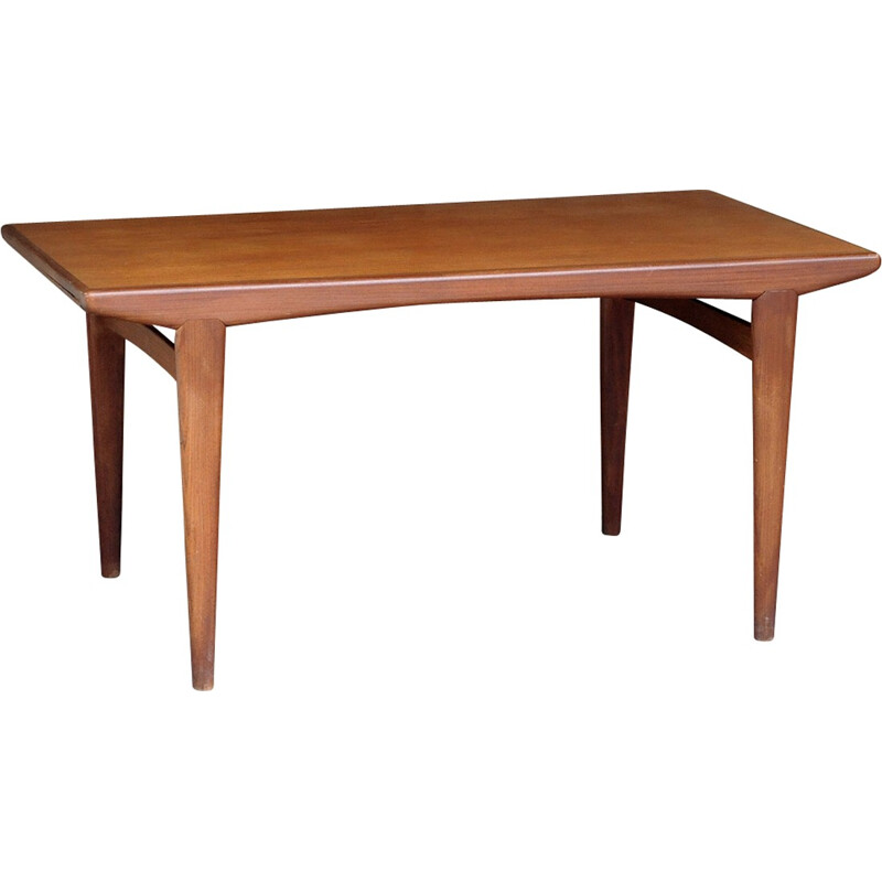 Mid-century French teak dining table - 1960s