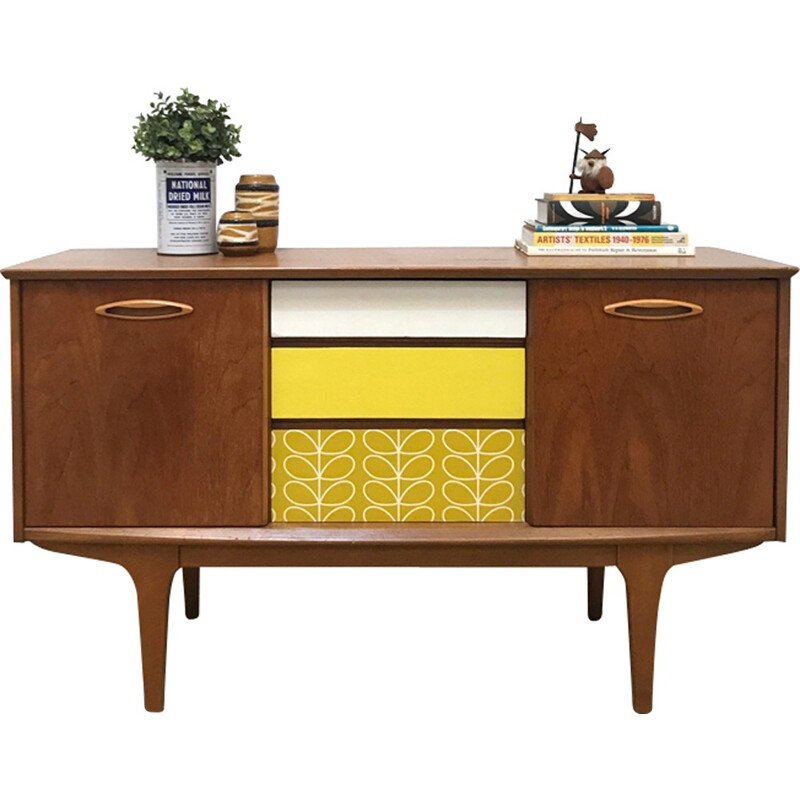 Mid-century small sideboard in teak produced by Jentique Furniture - 1960s