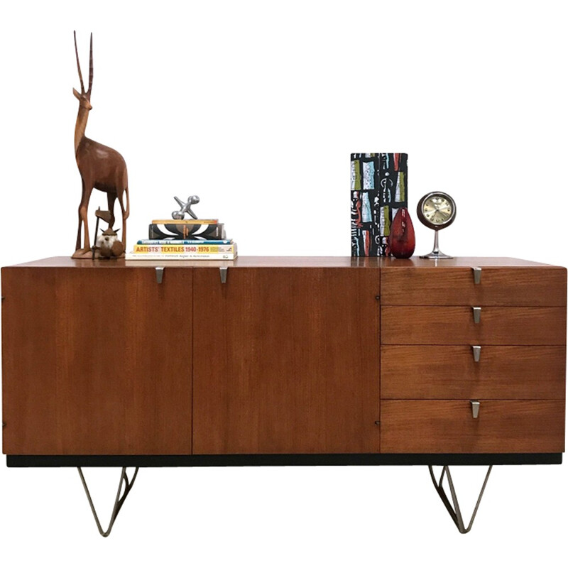 """""""S Range"""" sideboard in teak by John and Sylvia Read for Stag - 1960"""
