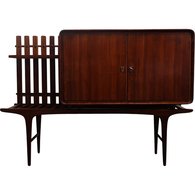 Portuguese sideboard in rosewood - 1960s